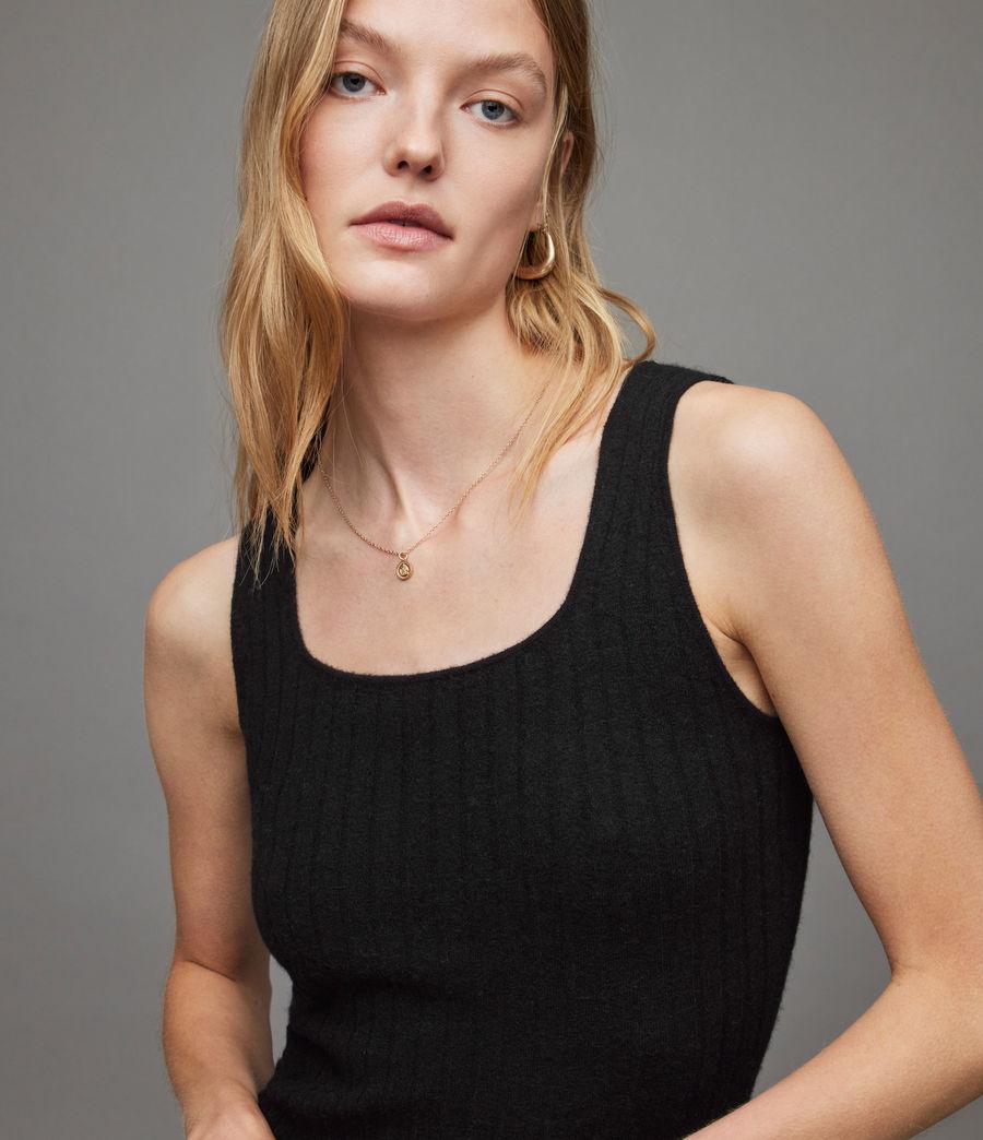 Womens Margot Dress (black) - Image 4