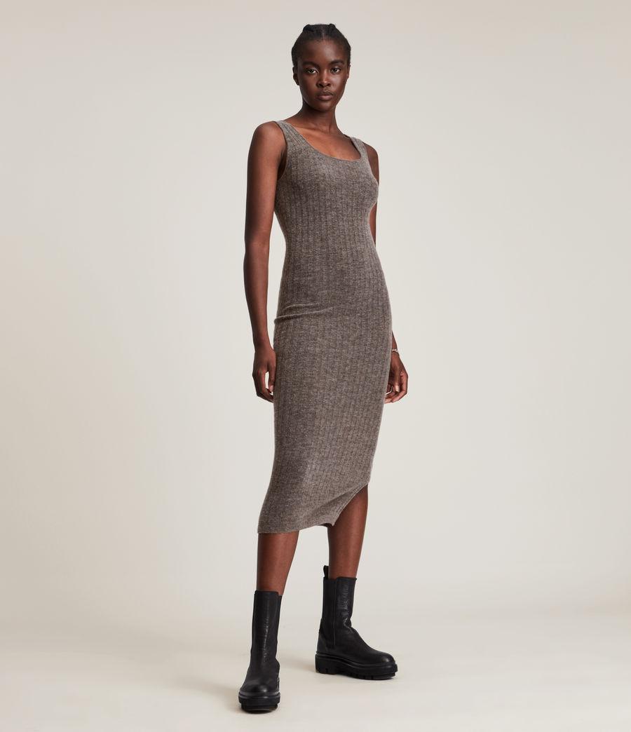 Womens Margot Dress (doe_brown_marl) - Image 2