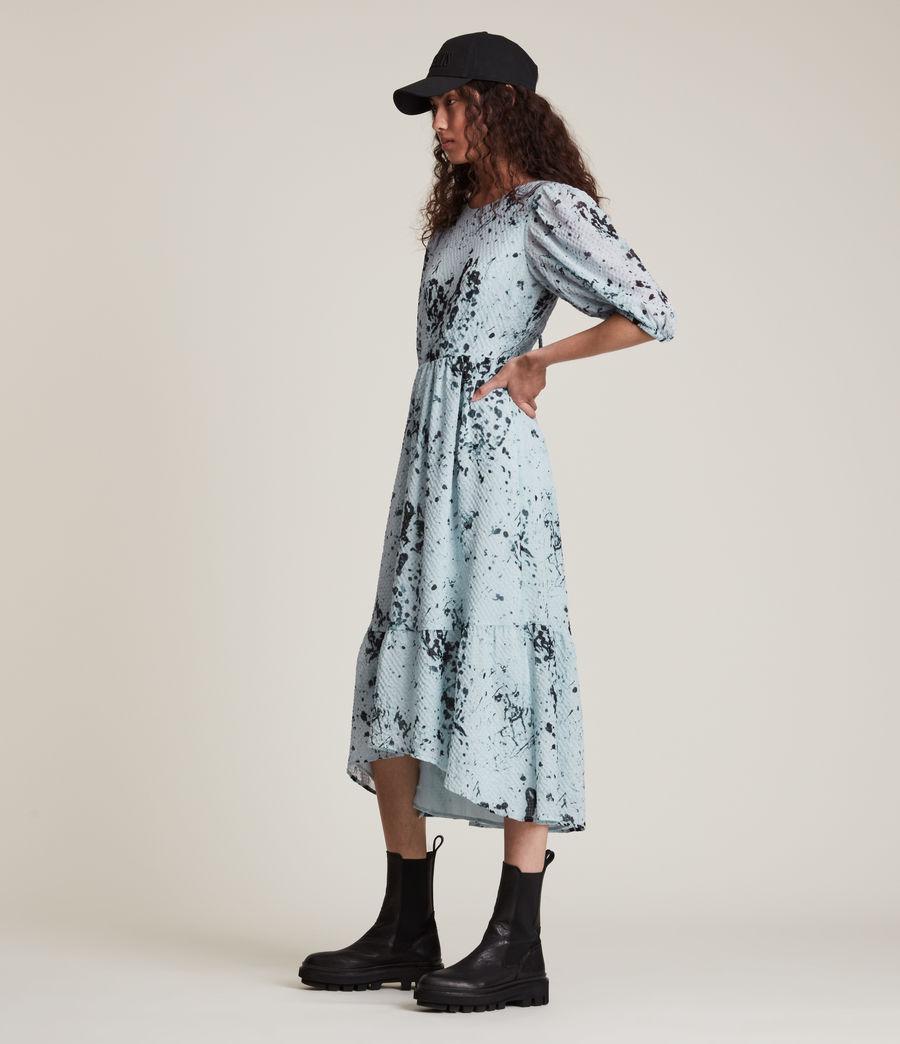Women's Sadie Portland Dress (blue) - Image 3