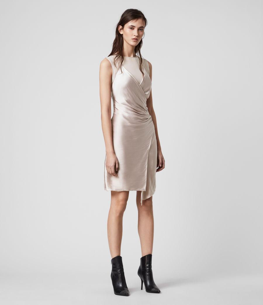 Womens Carlotta Dress (moon_dust_pink) - Image 1