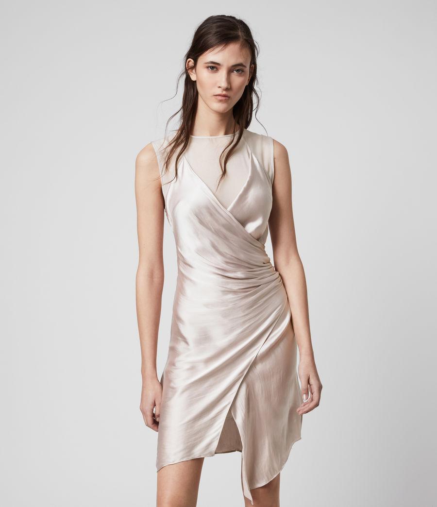 Womens Carlotta Dress (moon_dust_pink) - Image 3