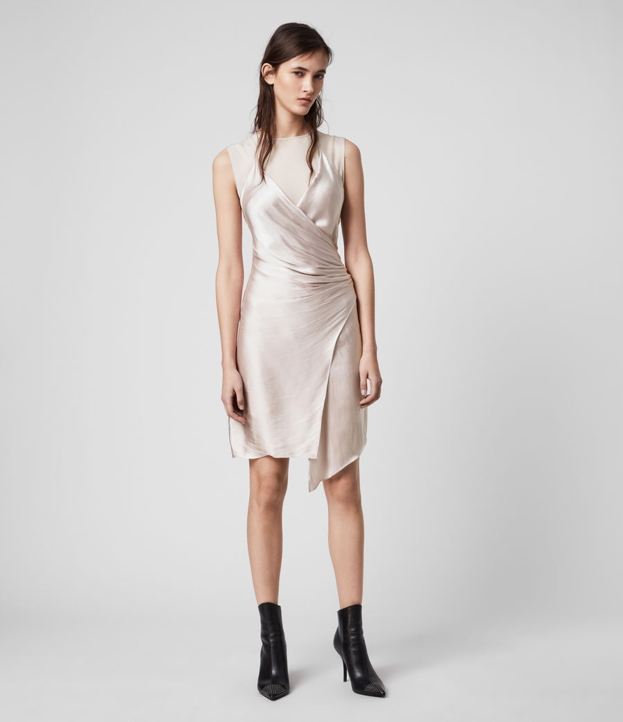Womens Carlotta Dress (moon_dust_pink) - Image 4