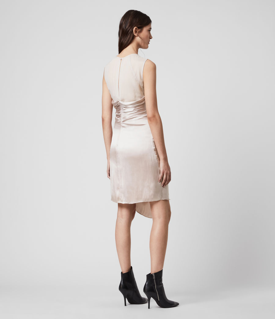 Womens Carlotta Dress (moon_dust_pink) - Image 5
