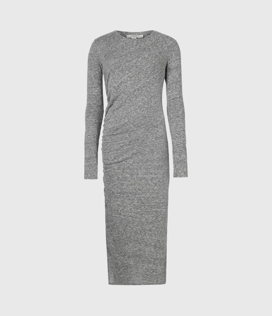 Women's Tina Dress (grey_marl) - Image 2