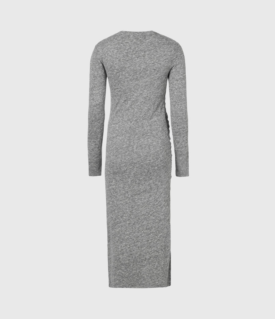 Women's Tina Dress (grey_marl) - Image 3