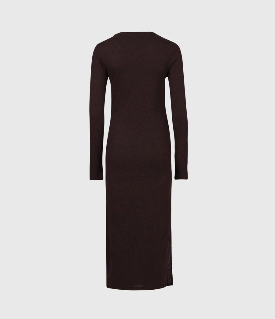 Women's Tina Dress (burgundy_red) - Image 3