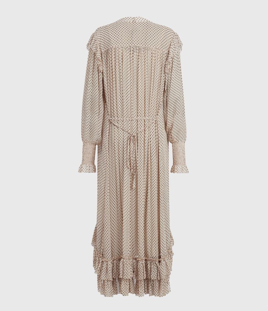 Womens Lara Dot Dress (nude_pink) - Image 3