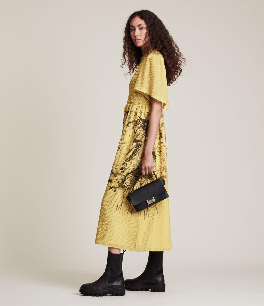 Womens Mya Iona Dress (yellow) - Image 2