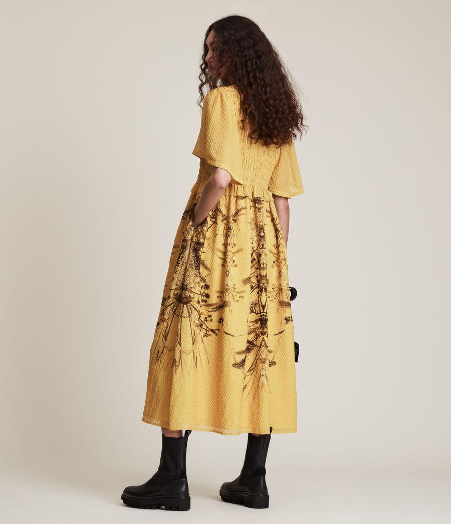 Womens Mya Iona Dress (yellow) - Image 5