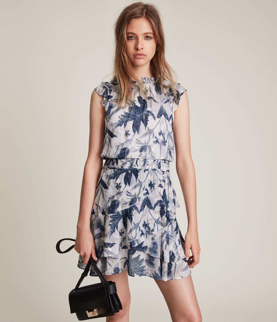 Women's Caylan Harris Dress (blueprint) - Image 2