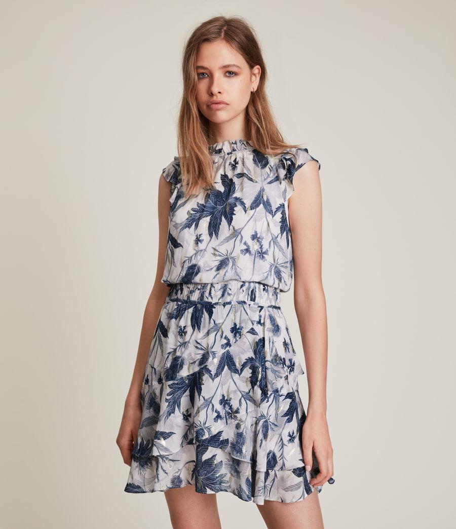 Women's Caylan Harris Dress (blueprint) - Image 3
