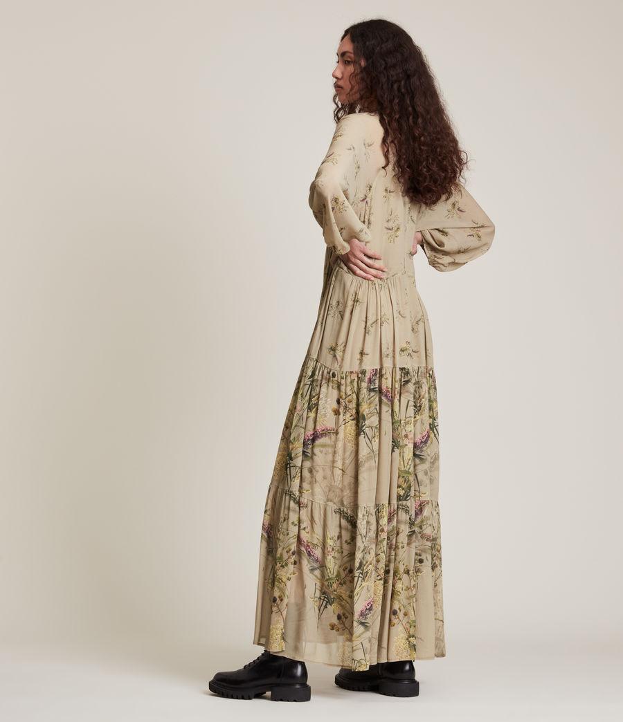 Women's Trude Caledonian Dress (khaki_green) - Image 5