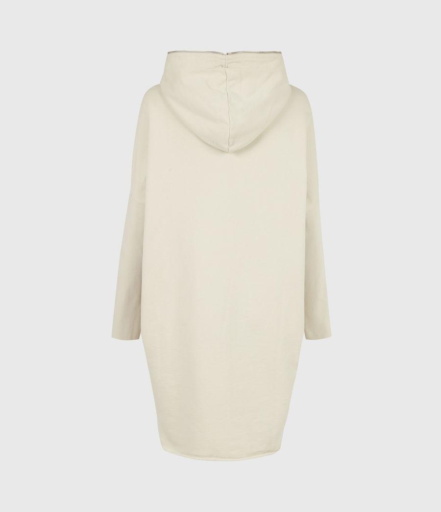 Women's Xonda Hoodie Dress (ecru_white) - Image 3