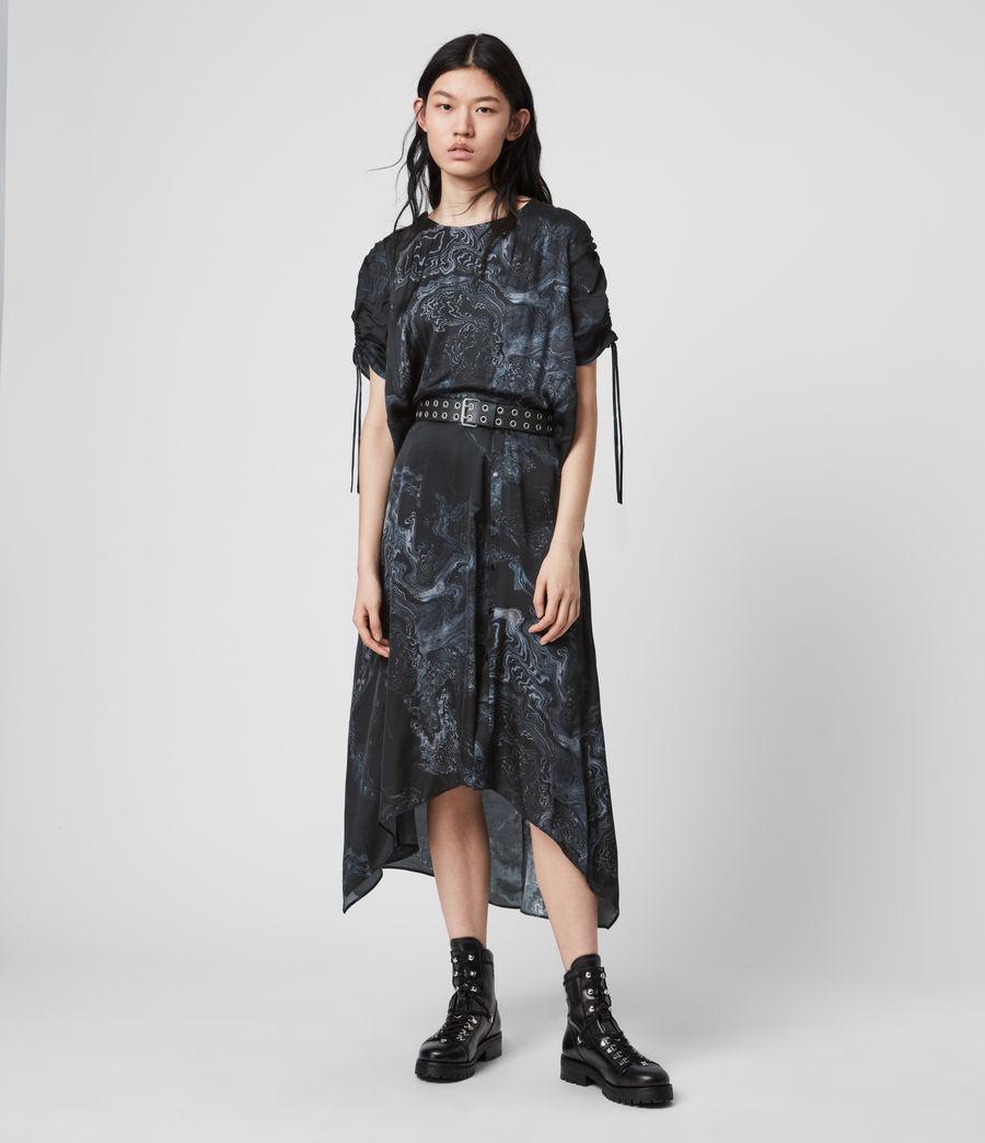 Women's Rafaela Hatsukoi Dress (oil_black) - Image 1
