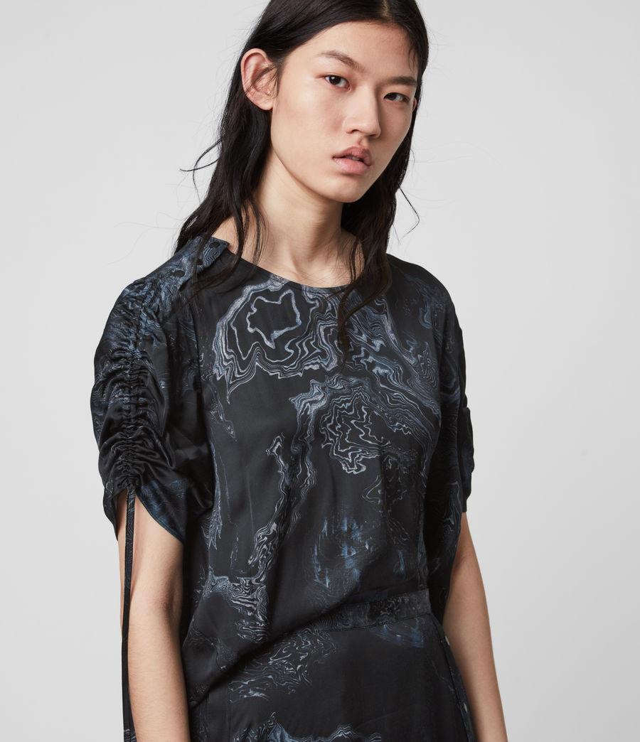 Women's Rafaela Hatsukoi Dress (oil_black) - Image 2