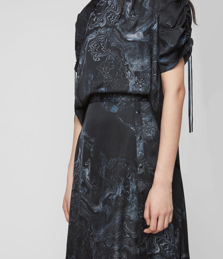 Women's Rafaela Hatsukoi Dress (oil_black) - Image 3