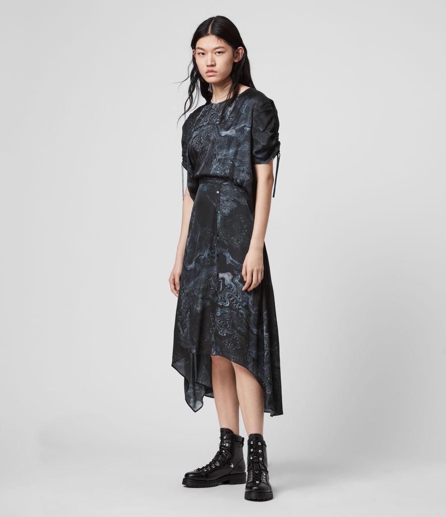 Women's Rafaela Hatsukoi Dress (oil_black) - Image 4