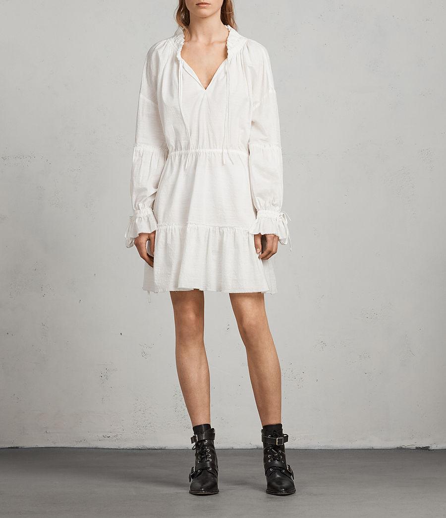 Women's Adara Dress (chalk) - Image 1
