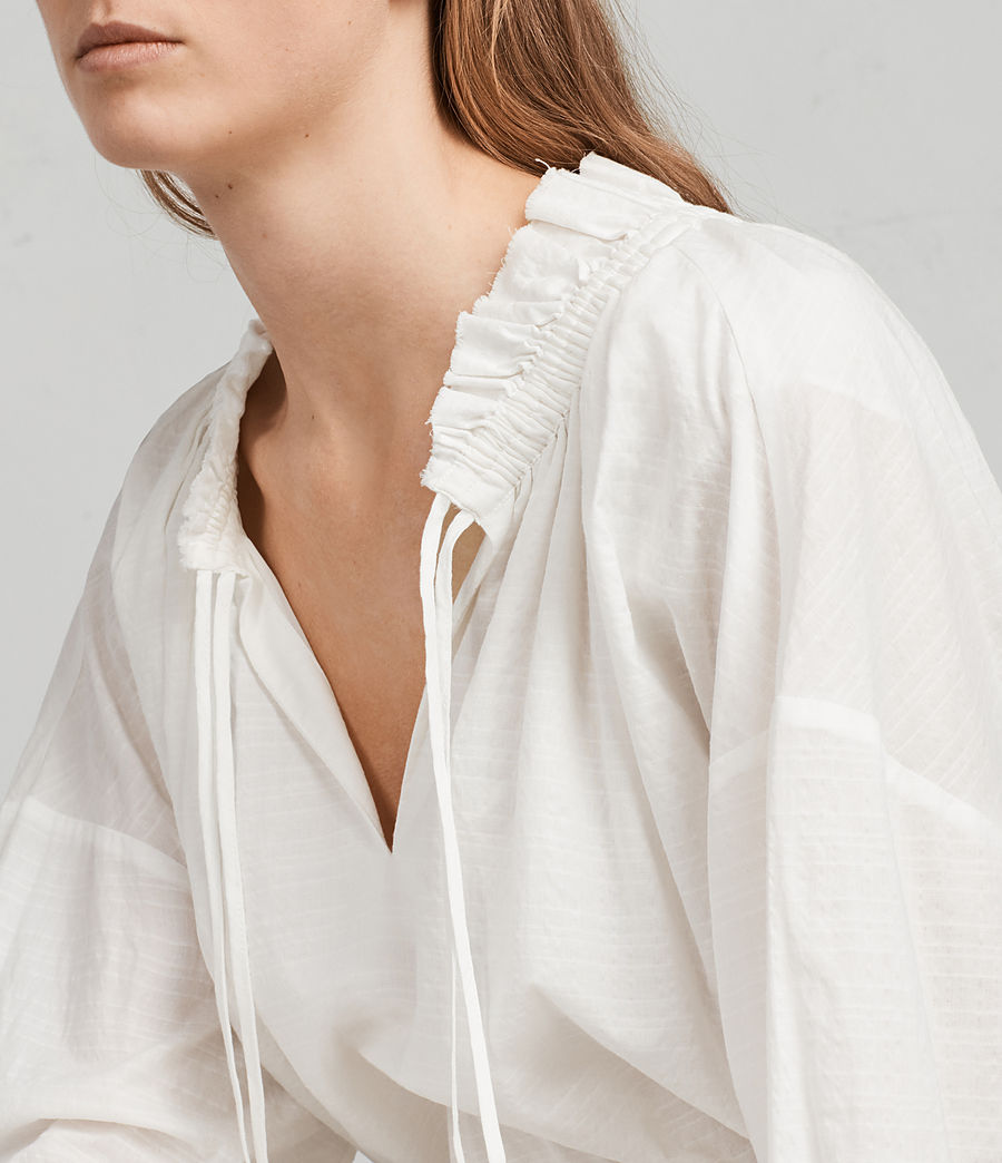 Women's Adara Dress (chalk) - Image 2