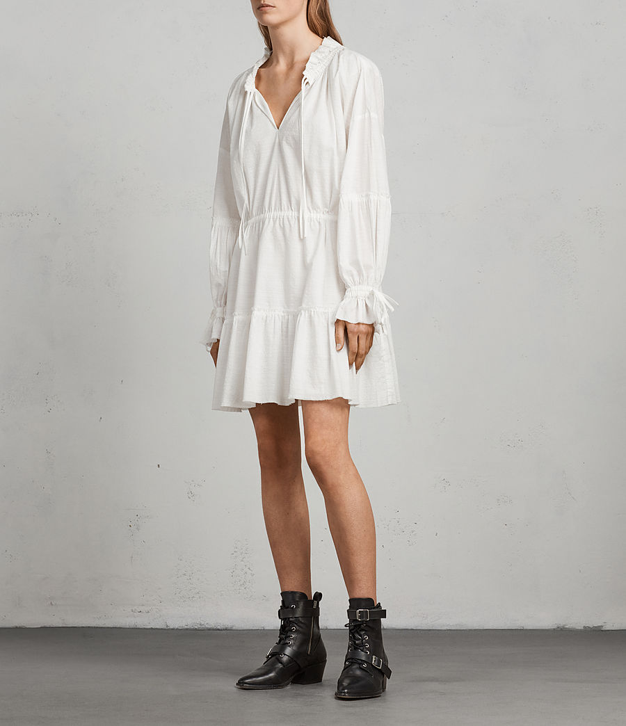 Women's Adara Dress (chalk) - Image 3