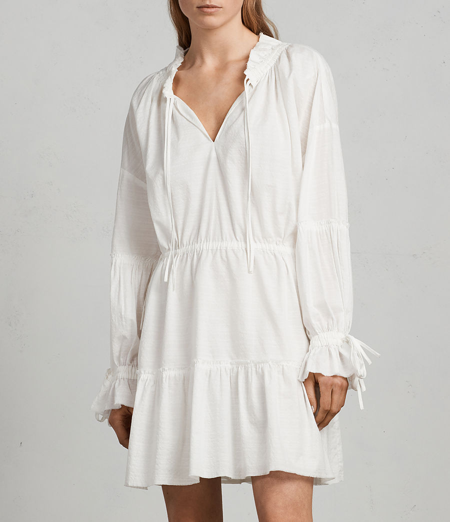 Women's Adara Dress (chalk) - Image 4