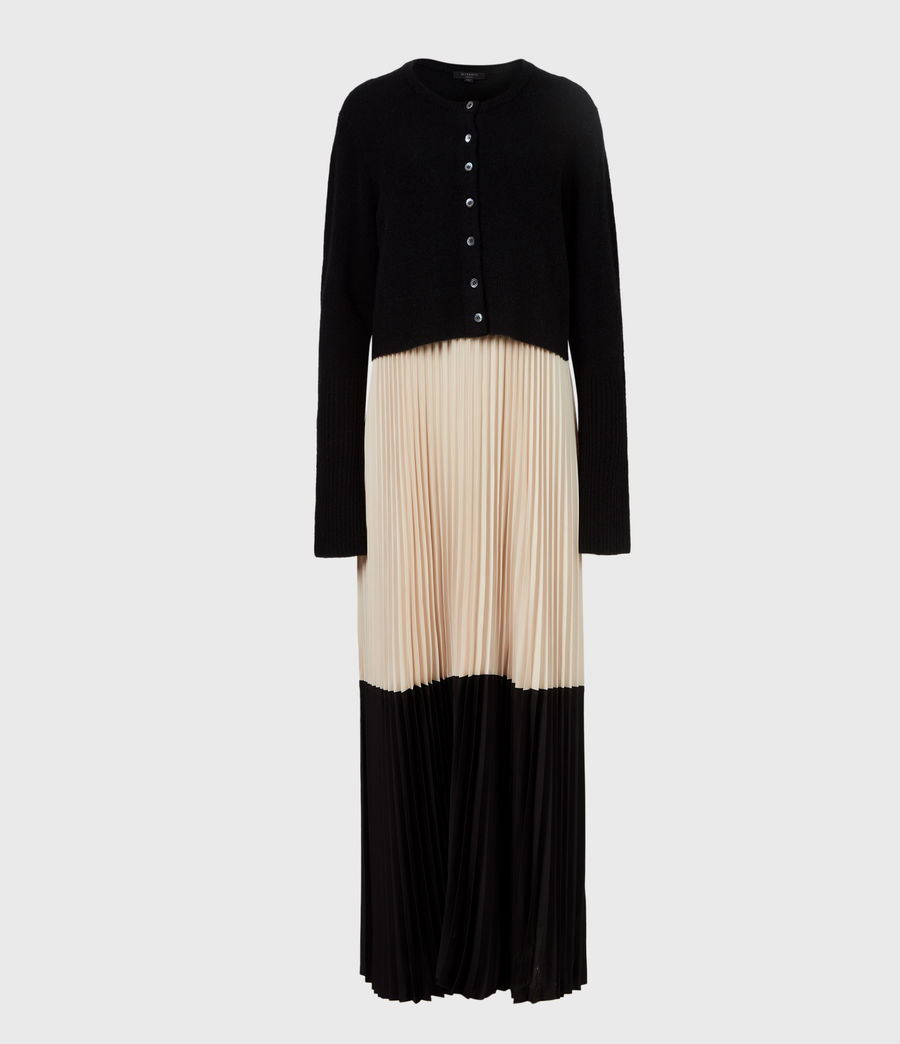 Womens Madison 2-in-1 Dress (black_ivory) - Image 2