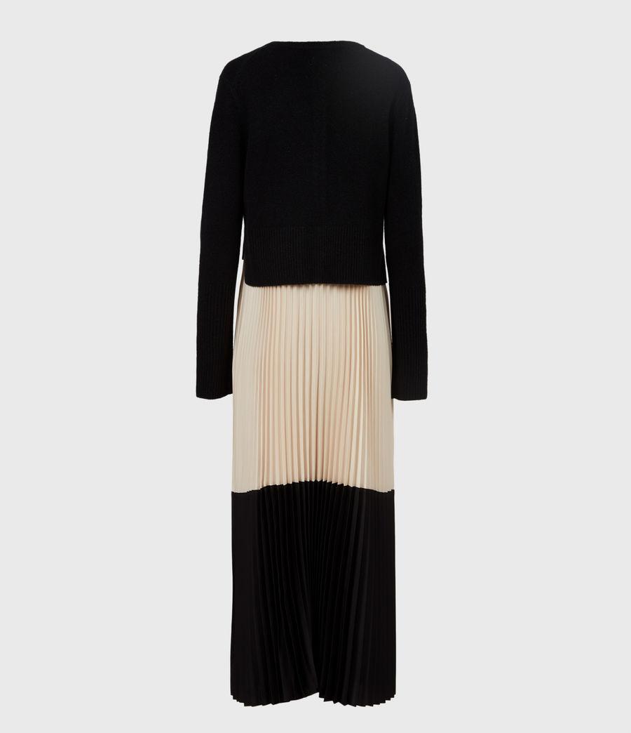 Womens Madison 2-in-1 Dress (black_ivory) - Image 3