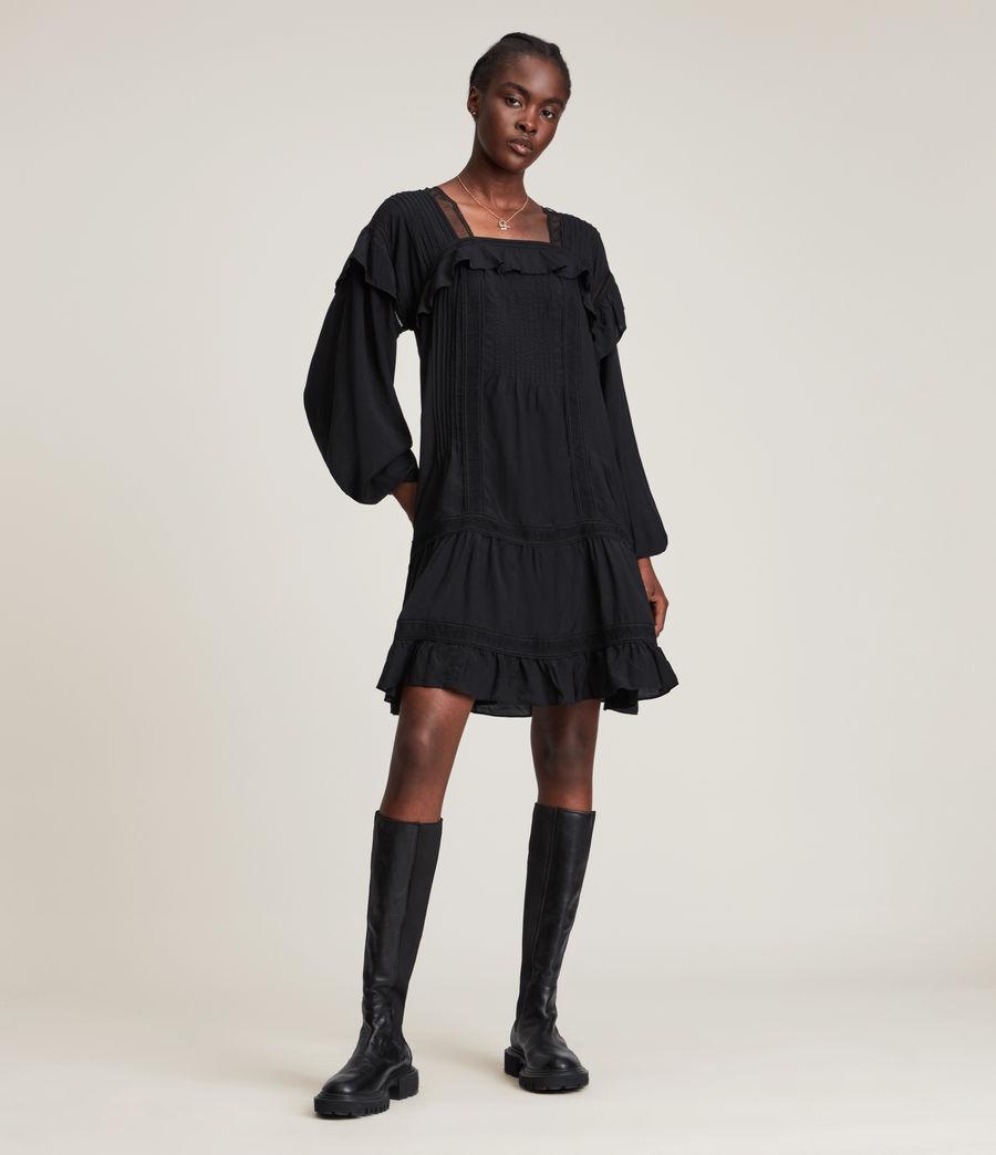 Women's Juliette Dress (black) - Image 1