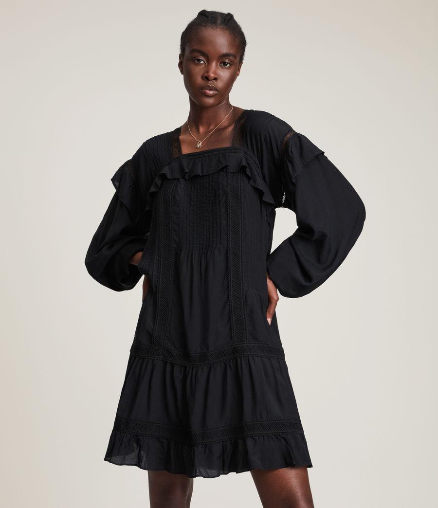 Women's Juliette Dress (black) - Image 2