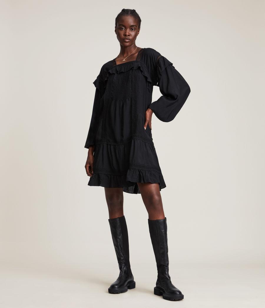 Women's Juliette Dress (black) - Image 3
