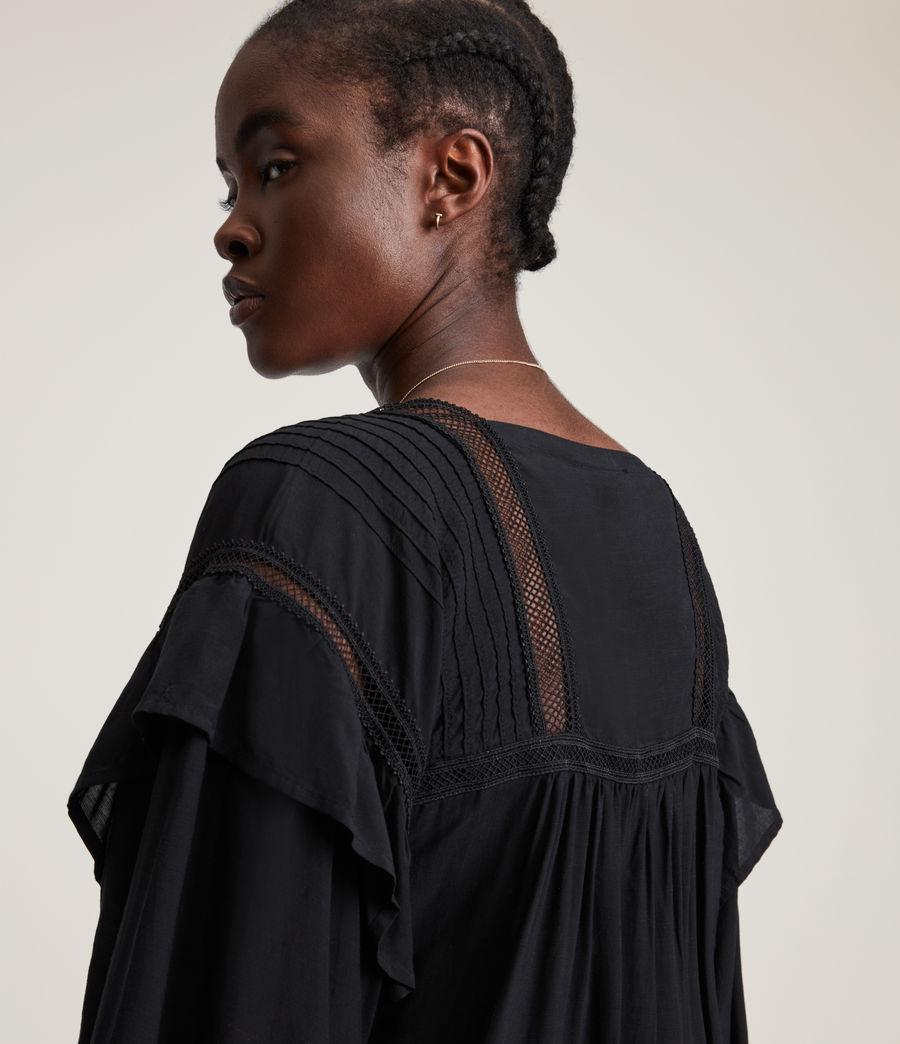 Women's Juliette Dress (black) - Image 4
