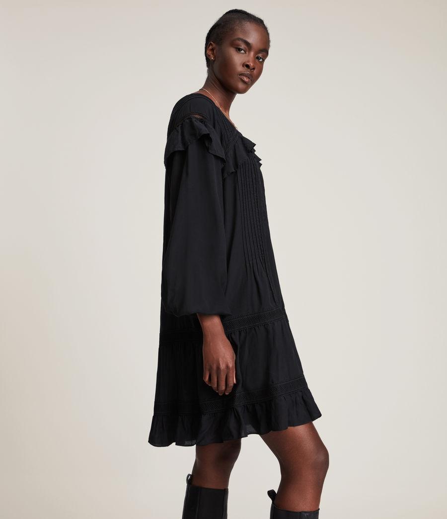 Women's Juliette Dress (black) - Image 6