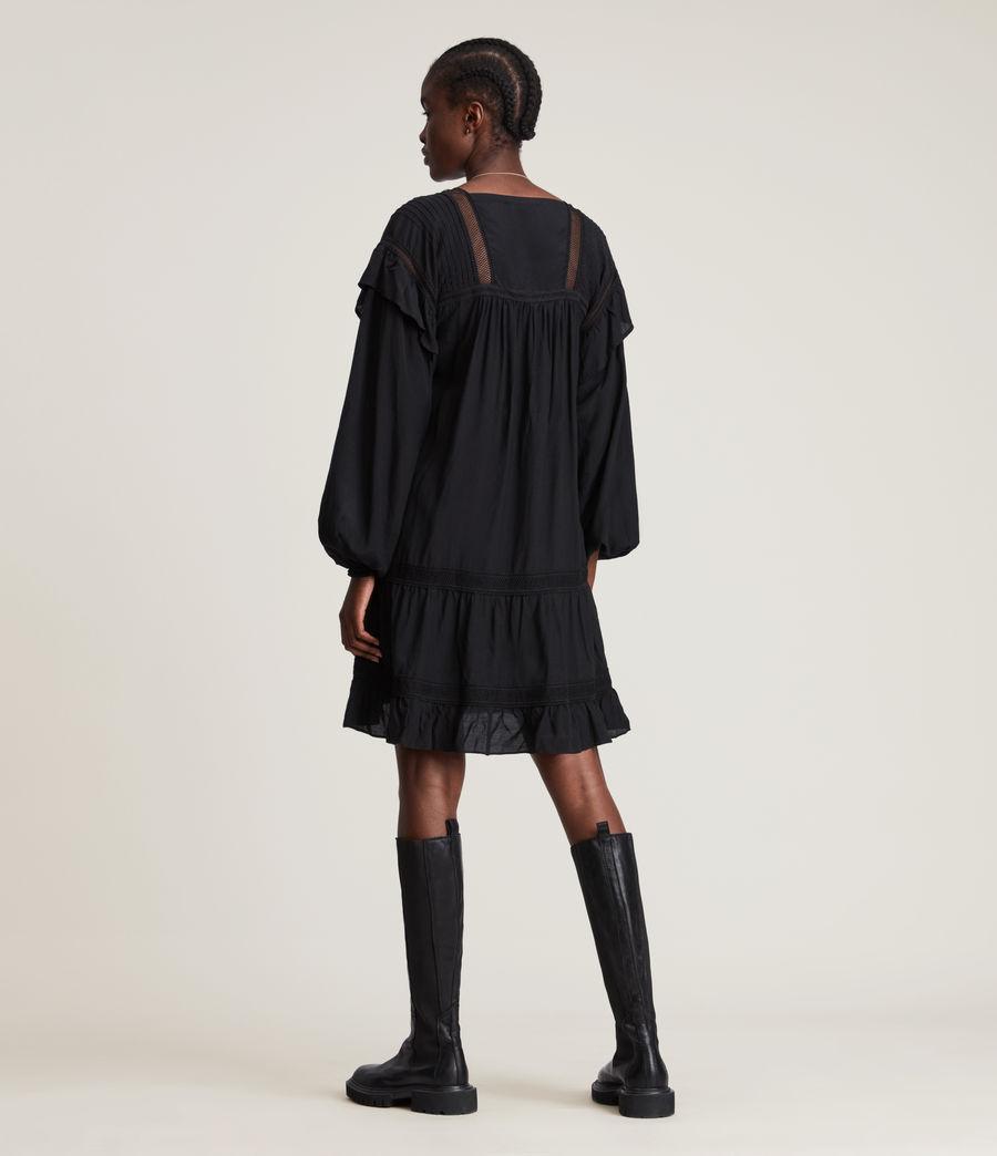 Women's Juliette Dress (black) - Image 7