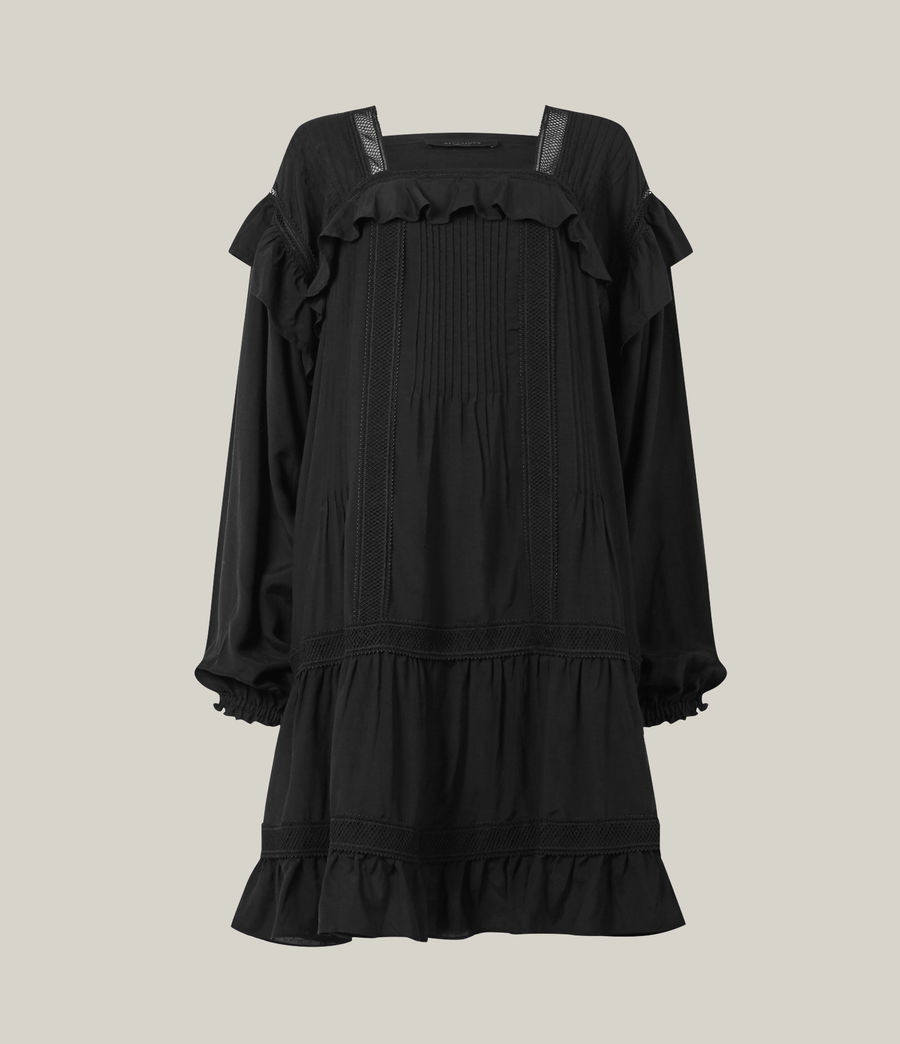 Women's Juliette Dress (black) - Image 8