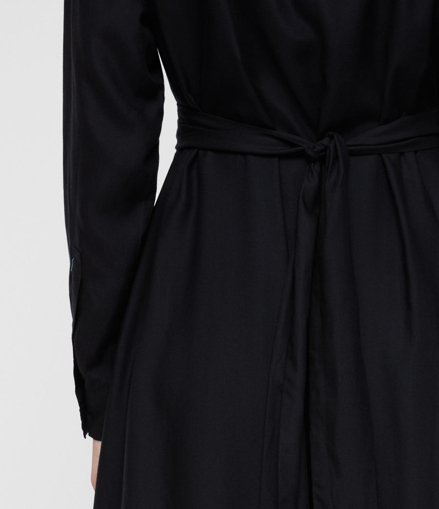 Women's Flyn Dress (black) - Image 5