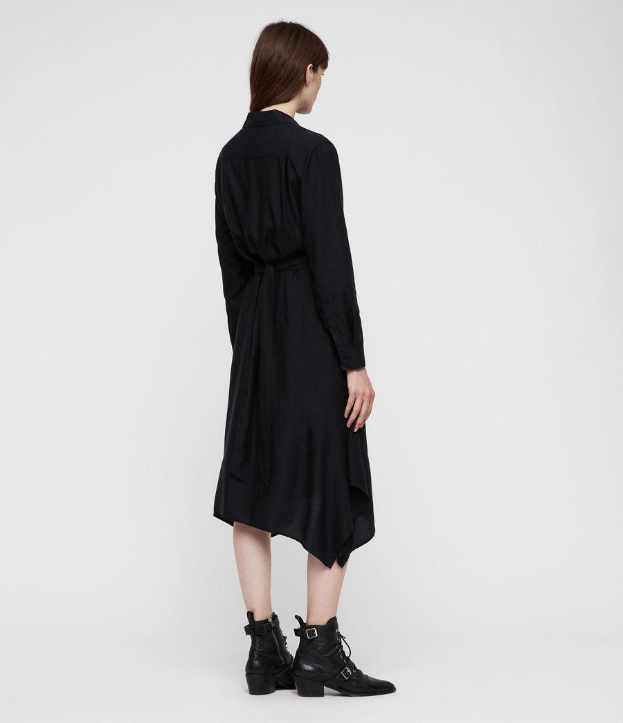 Women's Flyn Dress (black) - Image 6