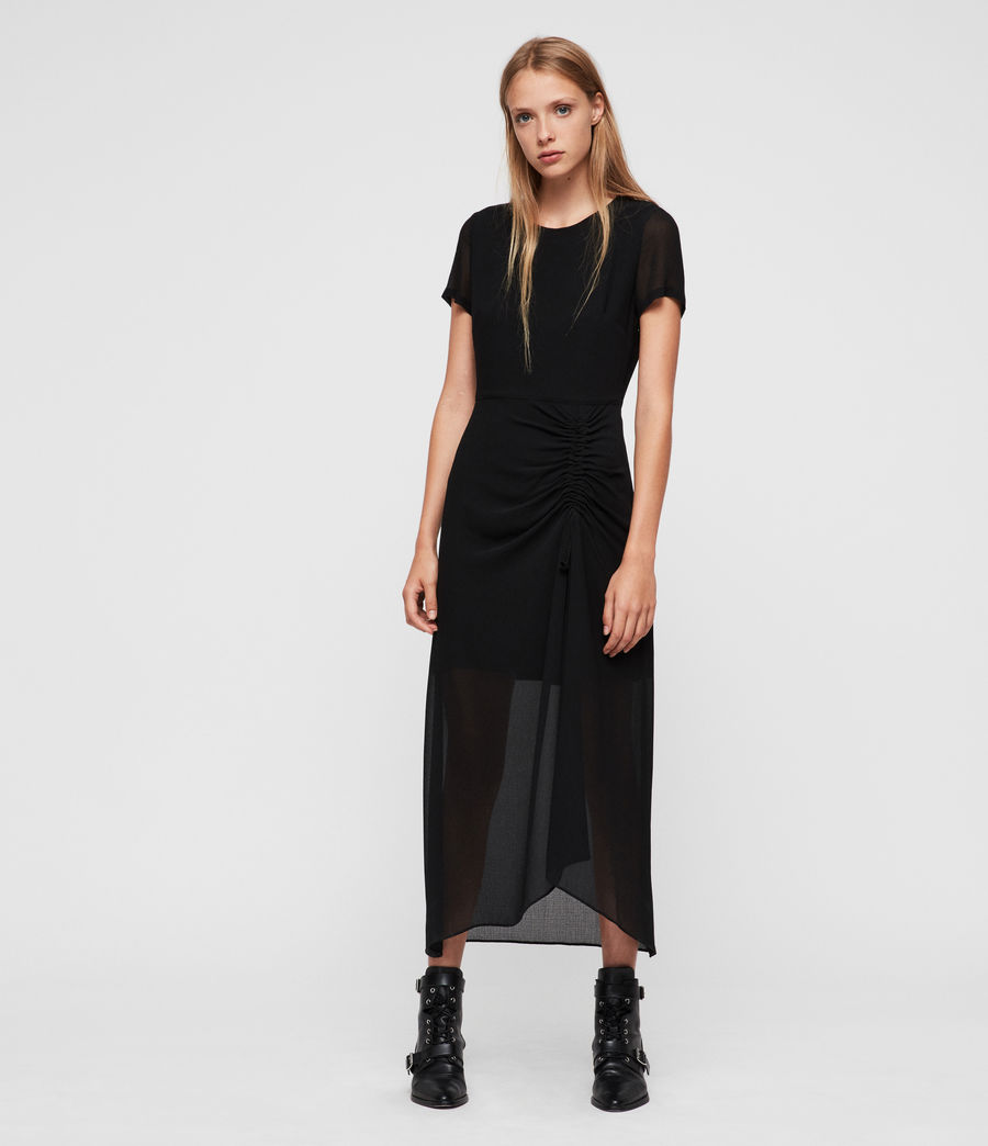 Womens Ariya Dress (black) - Image 1