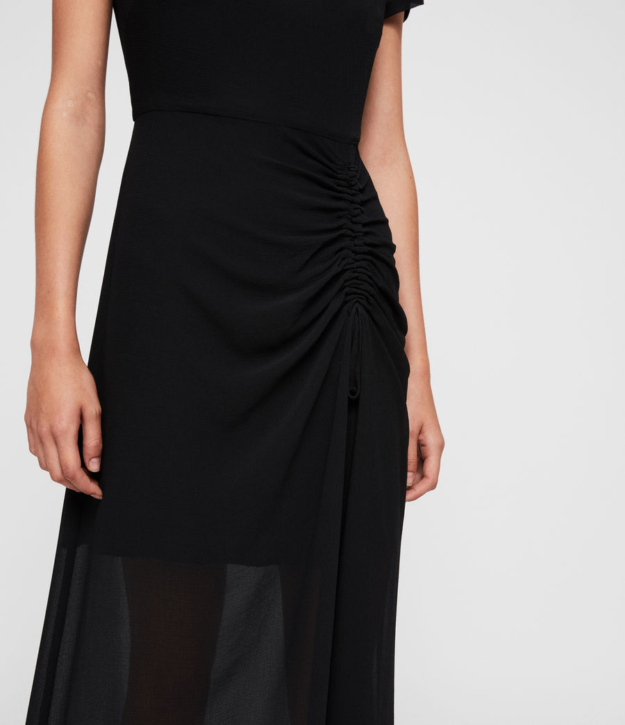 Women's Ariya Dress (black) - Image 5