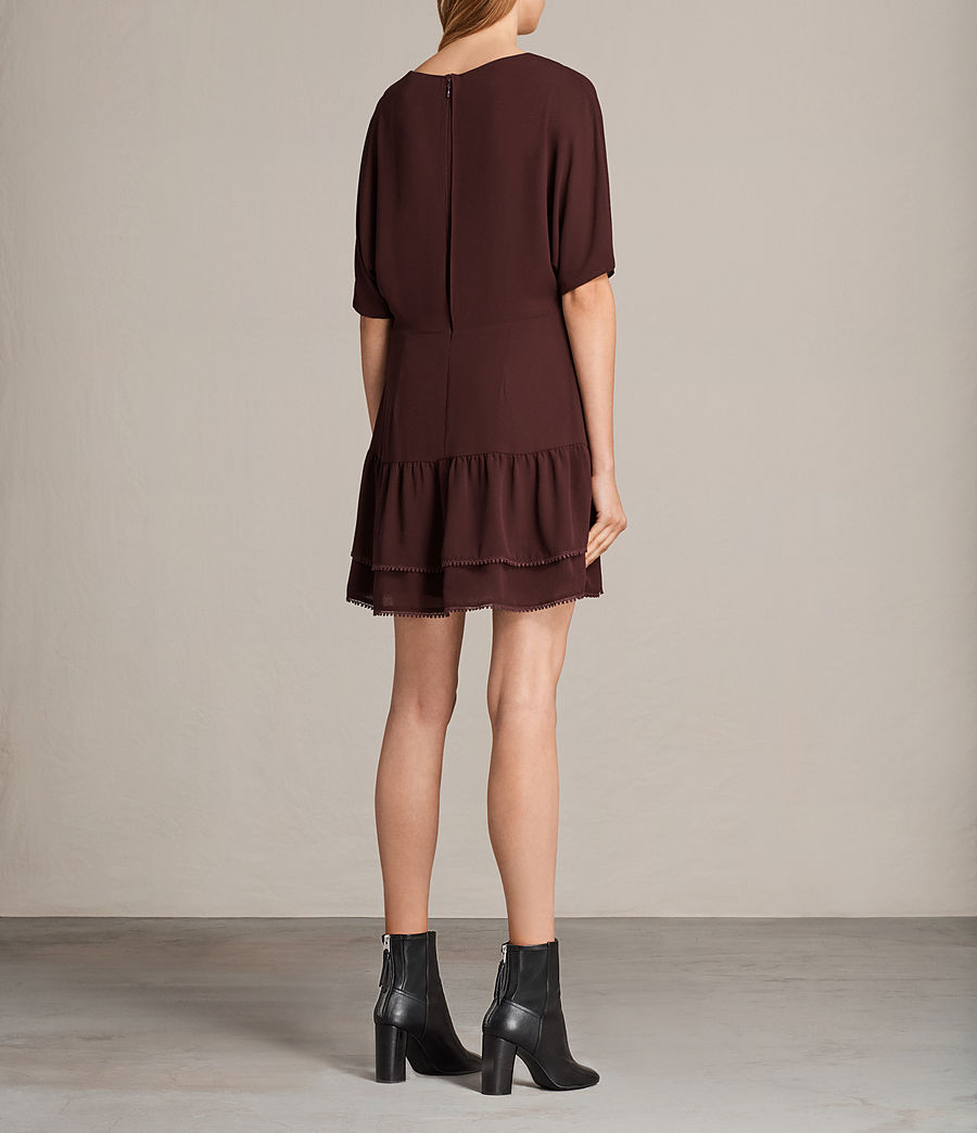 Womens Marley Dress (bordeaux_red) - Image 2