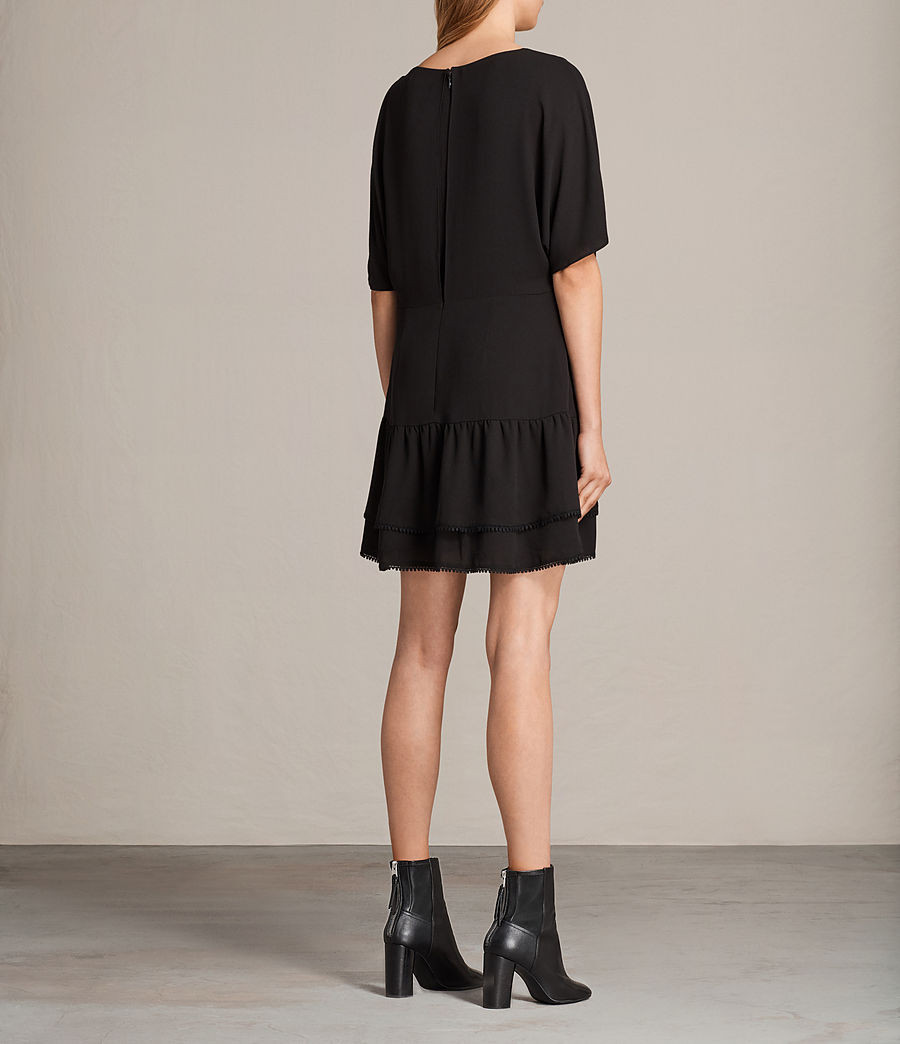 Womens Marley Dress (black) - Image 2