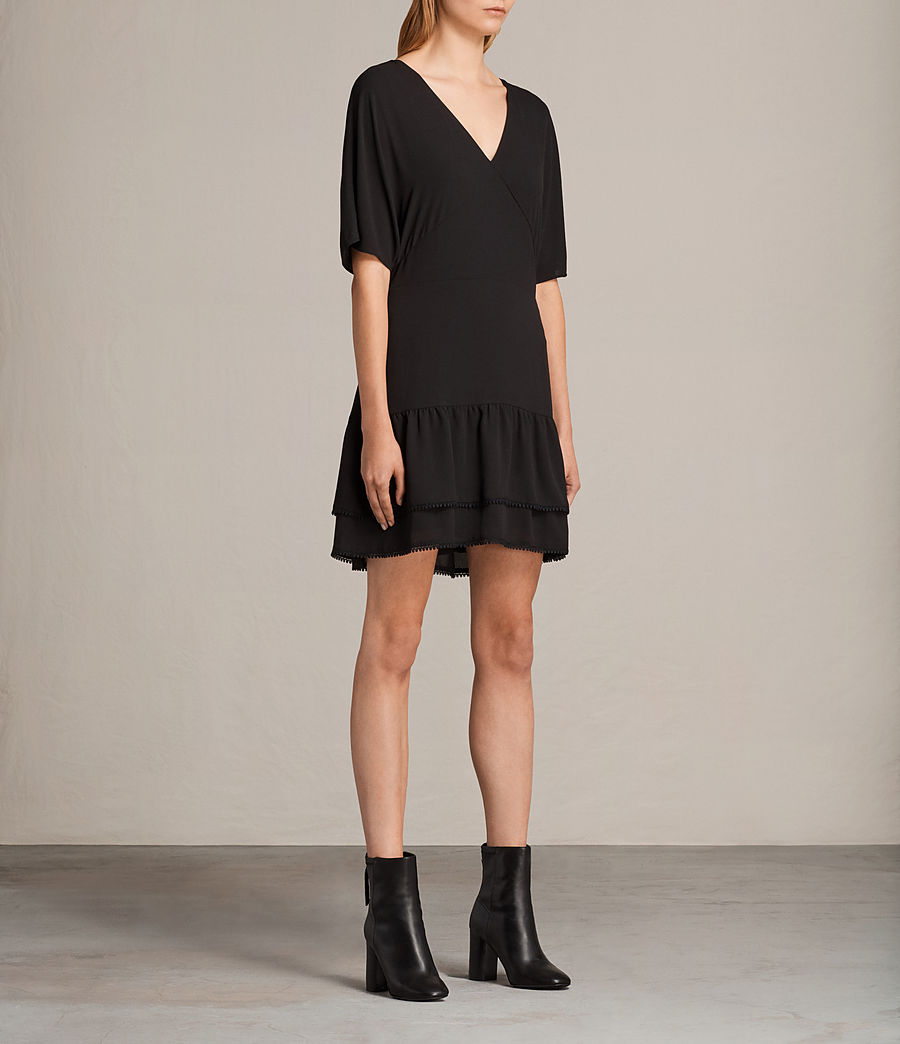 Womens Marley Dress (black) - Image 5