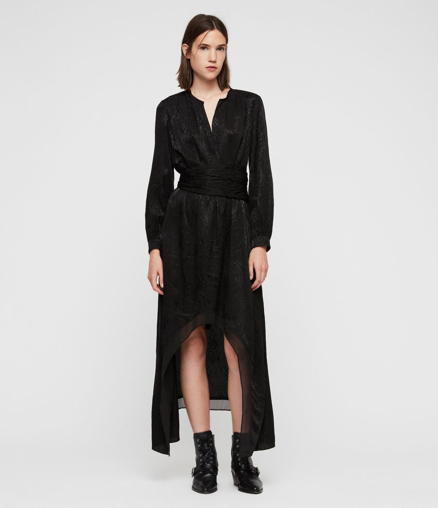 Womens Tessa Dress (black) - Image 1