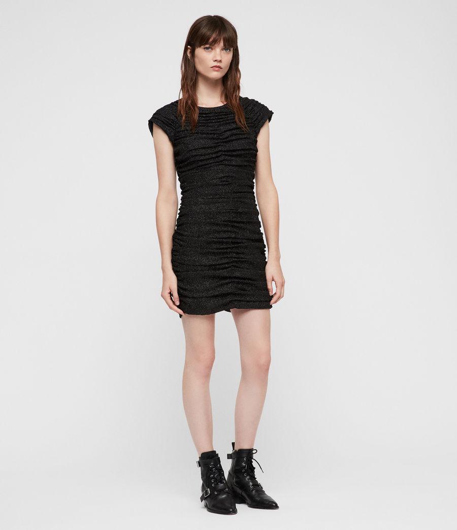 Damen Riff Kleid (black) - Image 1