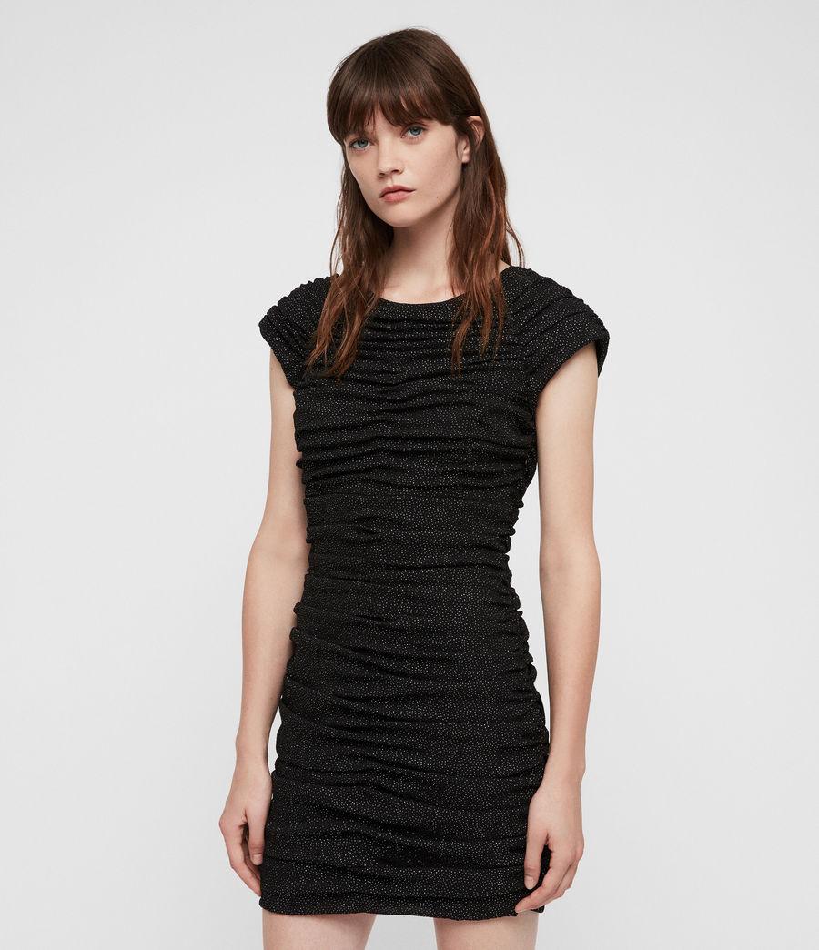 Damen Riff Kleid (black) - Image 2