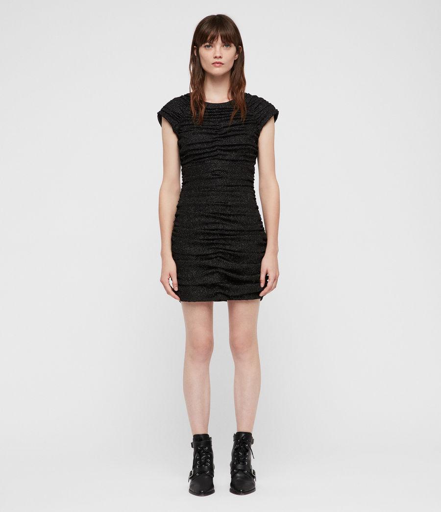 Mujer Vestido Riff (black) - Image 3