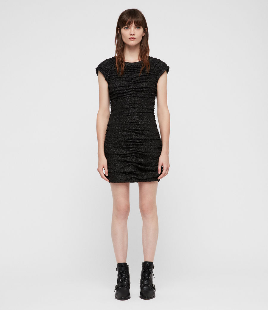 Mujer Riff Dress (black) - Image 3
