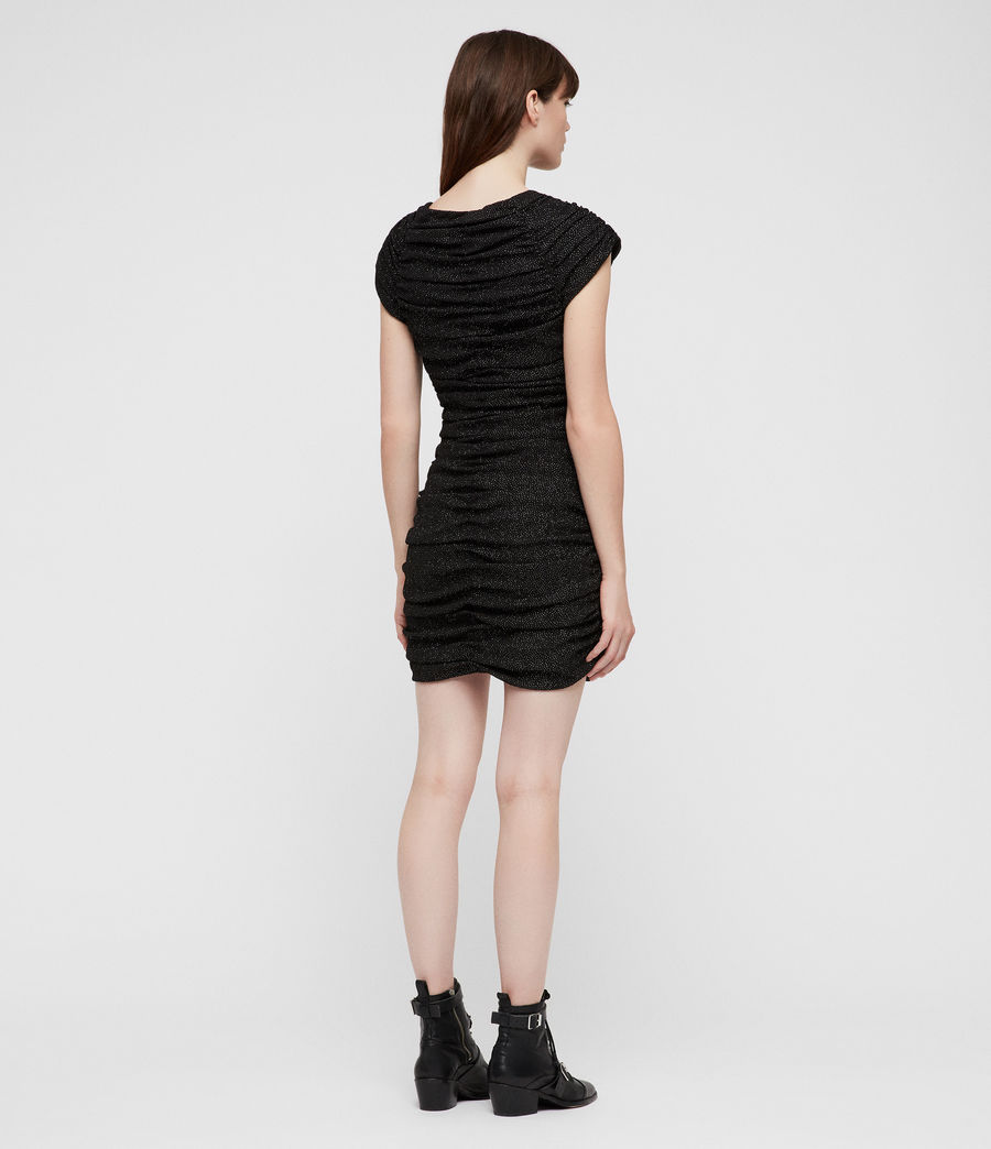 Damen Riff Kleid (black) - Image 5