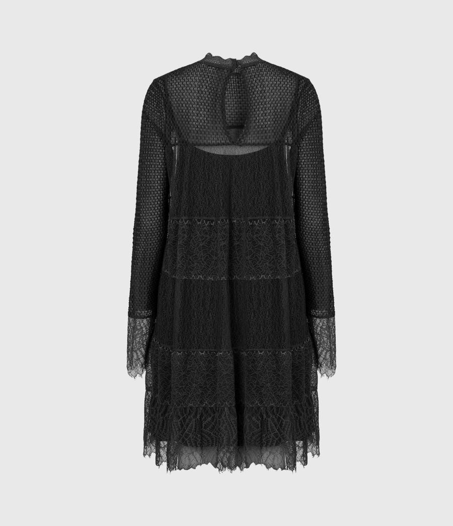 Womens Briella Lace Dress (black) - Image 3