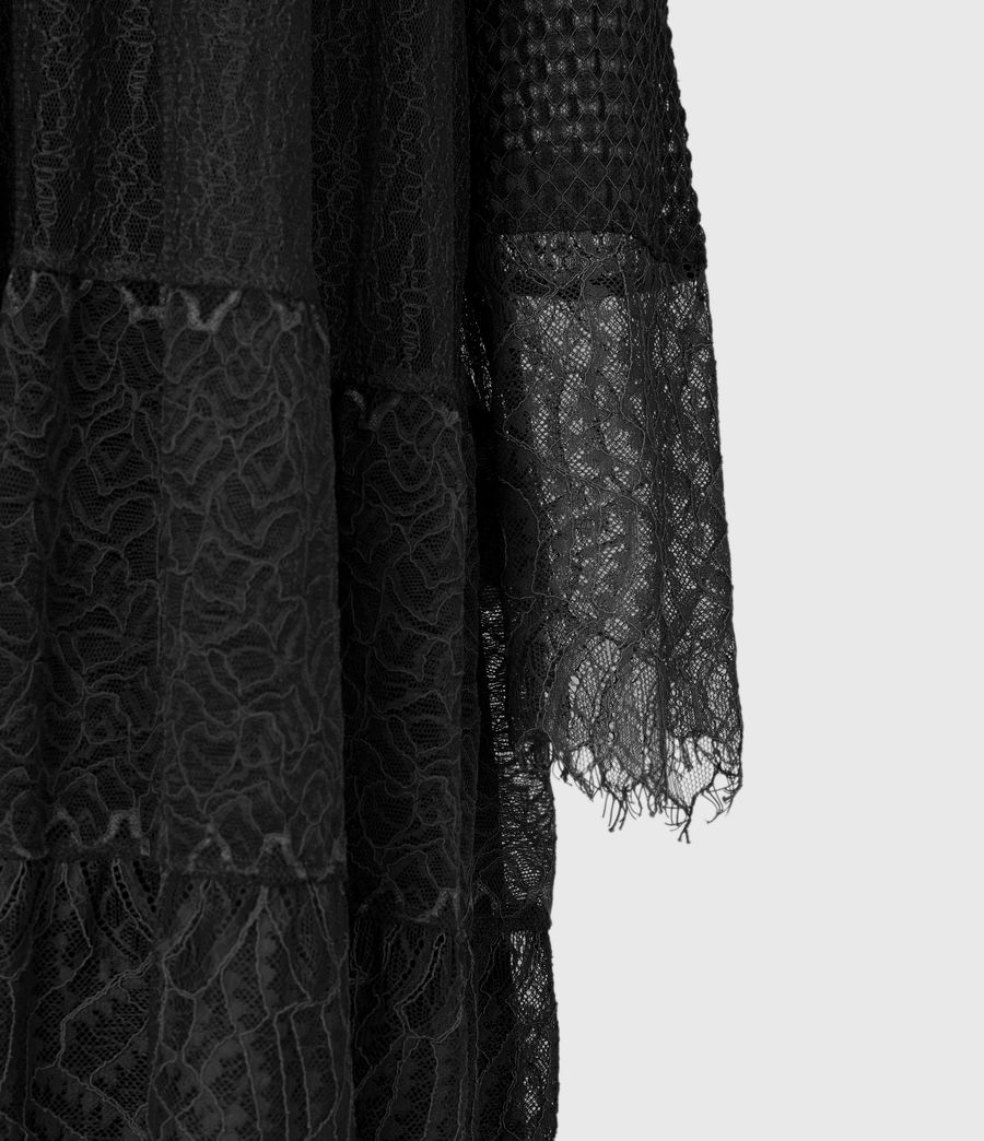 Womens Briella Lace Dress (black) - Image 6