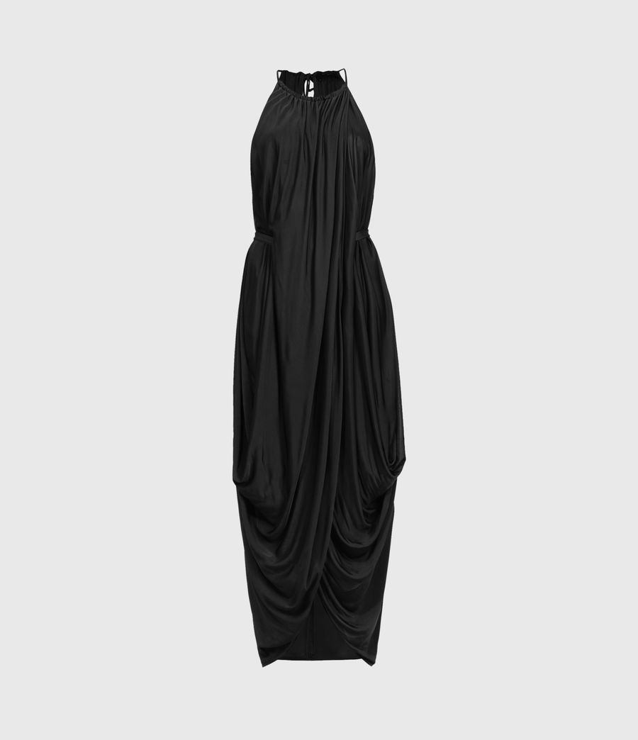 Women's Erin Dress (black) - Image 1